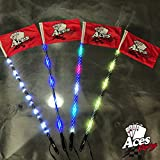 racing ace - Aces Racing Deluxe LED Lighted Whip (5ft 400 Combination)