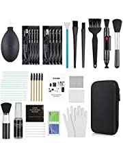 Zacro DSLR Professional Camera Cleaning Kit, 18-in-1 Camera Cleaning Accessories(with Storage Box), Rocket Air Blower/Cleaning Cloth/Lens Brush and Lens Cleaner