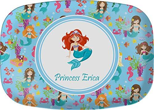Personalized Melamine Platter - Mermaids Melamine Platter (Personalized)