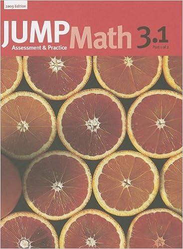 Amazon.com: JUMP Math 3.1: Book 3, Part 1 of 2 (9781897120682 ...