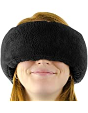 Wrap-a-Nap - Travel Pillow, Sleep Mask & Ear Muff in One. Sleep Anywhere on Airplanes, Cars, Camping, Dorm Rooms, in The Office or at Home. Ultra-Soft Neck Pillow & Reading Pillow.