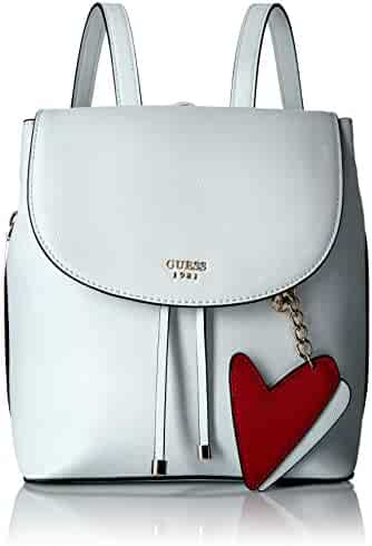 GUESS Pin up Pop Backpack-White