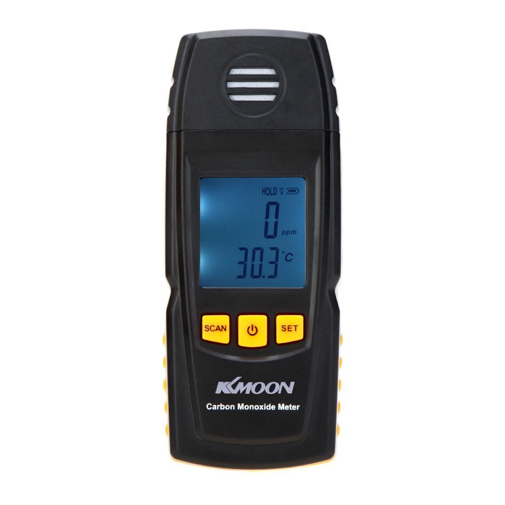 GXG-1987 Handheld Carbon Monoxide Meter with High Precision CO Gas Tester Monitor Detector Gauge 0-1000ppm GM8805
