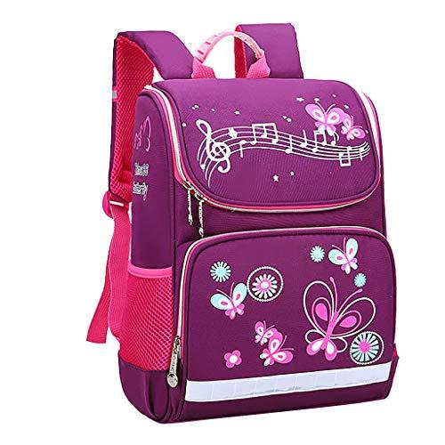 Tronet Kids Children's Backpack,Girl Fashion Large Capacity Waterproof Cartoon Print Load-reducing Cartoon Kids Backpack