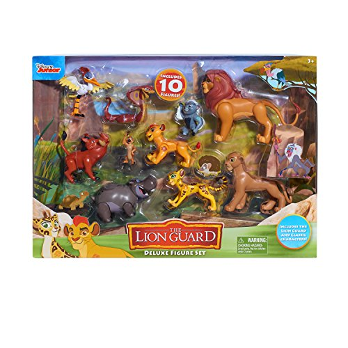Just Play Lion Guard Deluxe Figure (Best Action Figure Playsets)