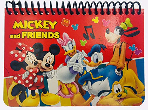 Albums Disney Autograph (Disney Mickey Autograph Book - RED Mickey and Friends)
