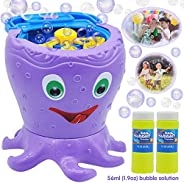 JOYIN Bubble Machine Octopus Bubble Maker Automatic Bubble Blower 1000+ Bubbles Per Minute for Kids, Summer To