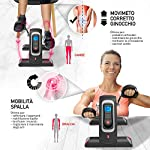 YOUR-MOVE-Mini-Cyclette-Da-Casa-Pedaliera-Servoassistita-Per-Ginnastica-Attiva-Riabilitazione-Utilizzabile-Con-e-Senza-Motore-12-Velocita-6-Programmi-Timer-Distanza-Calorie-Telecomando-New-2020