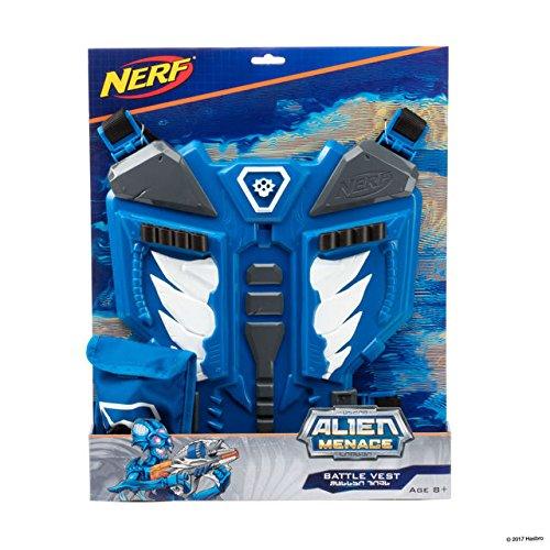 NERF Alien Menace Battle Vest ナーフエイリアンメナスバトルベスト [並行輸入品] B079Q25349