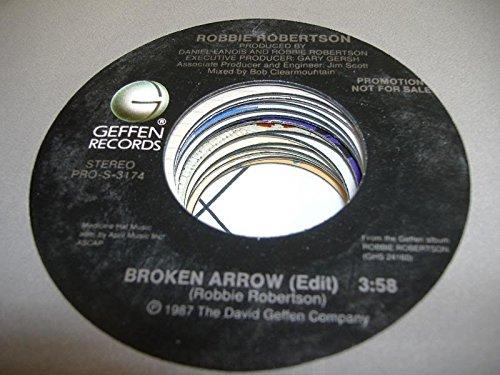 ROBBIE ROBERTSON 45 RPM Broken Arrow / - Broken Mall Arrow