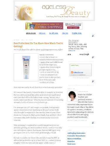 Skin Care Products Blog