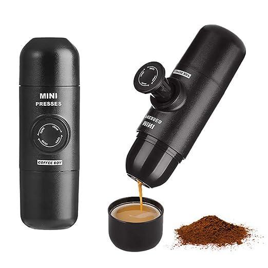 AGOU-L Mini máquina de café Espresso cápsula de la máquina ...