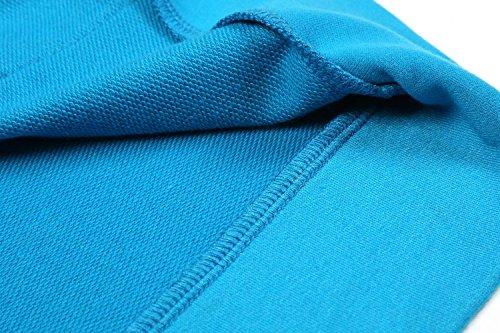 Lac Coofandy Manches Poches Éclair Sweat Bleu Sans Fermeture Capuche À Décontractée Pour Homme Et rBrw1O
