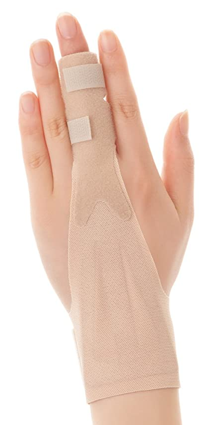 否認する執着ジャケットBigmind 4枚入親指サポーター 親指 親指固定 ばね指 腱鞘炎 突き指 関節症 捻挫 親指付け根の骨折 脱臼 フリーサイズ