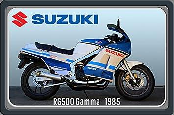 Comcard Suzuki Rg 500 Gamma 1958 97ps Motorrad Motor Bike