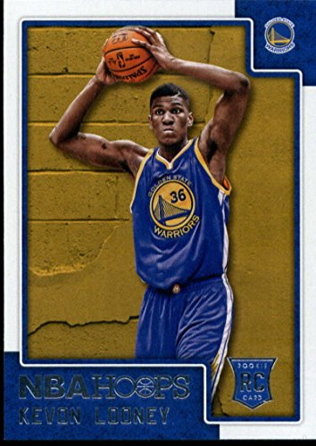 Golden State Warriors Rookie Basketball - 2015-16 NBA Hoops #270 Kevon Looney Golden State Warriors Official RC Rookie Basketball Card made by Panini