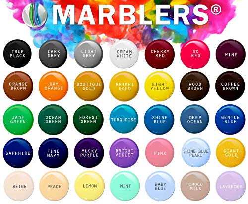 Marblers Powder Colorant 10oz (283g) [Cherry Red] | Pearlescent Pigment | Tint | Pure Mica Powder for Resin | Dye | Non-Toxic | Great for Paint, Concrete, Epoxy, Soap, Nail Polish, Cosmetics by Marblers (Image #3)