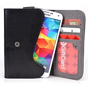 5 Inch Phone Wallet Case with Belt Loop and Credit Card Slots fits Sonim XP3300 Force