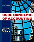 Core Concepts of Accounting 9780470499474