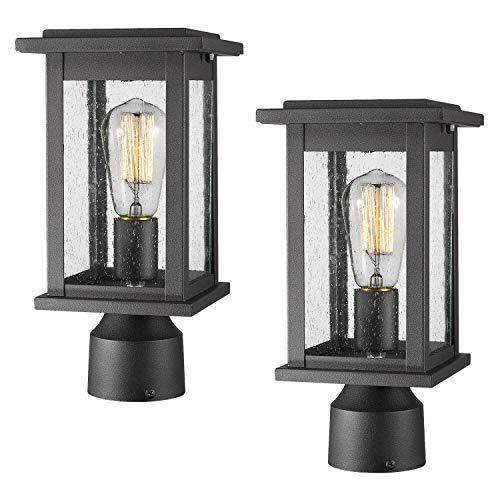 Led 3 Light Outdoor Post Lantern in US - 7