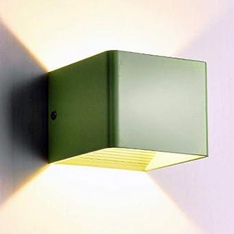 lampara led de pared led de pared arriba abajo Moderna sala de estar lámpara de pared LED pasillo lámpara escalera accesorios de pared balcón exterior lámpara de pared impermeable: Amazon.es: Iluminación