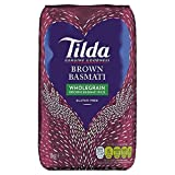 Tilda Brown Wholegrain Basmati Rice - 1kg (2.2lbs)