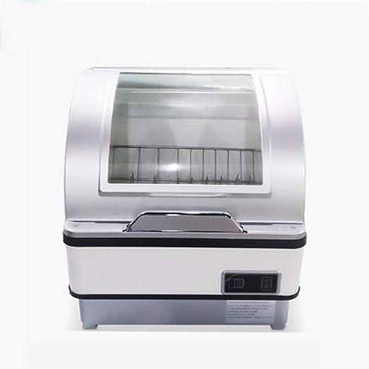 OMLTER Lavavajillas Compacto sobre Encimera con Desinfección UV A ...