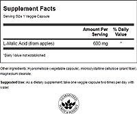 Swanson Malic Acid 600 mg 100 Veg Caps