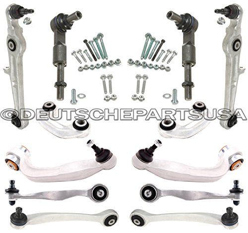 Hamburg-Technic Control Arm Ball Joint Tie Rod Sway Bar Subframe Mount Kit pc for BMW E32