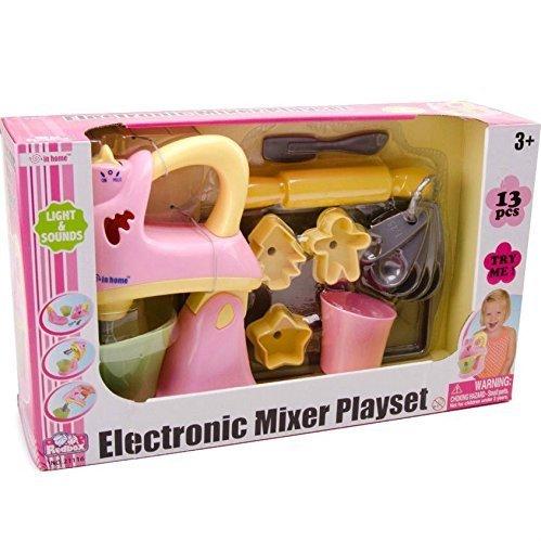 Redbox Electronic Mixer Playset 13 pcs Lights & Sounds - Pink by Redbox
