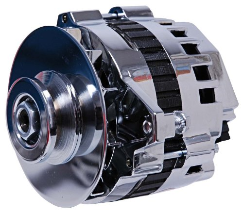MSD 5322 Chrome 120A DynaForce Alternator