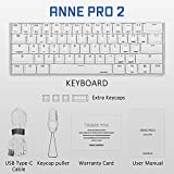 ANNE PRO 2, 60% Wired/Wireless Mechanical