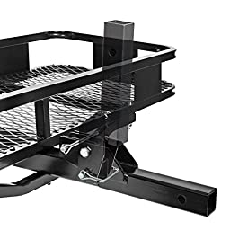 Direct Aftermarket Folding Hitch Cargo Carrier 60 inch Hauler 2 inch Receiver and Cargo Bag Combo