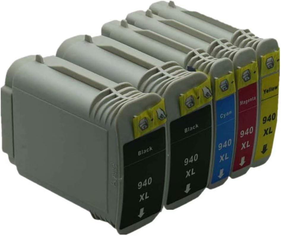 No-name Compatible Ink Cartridge Replacement for HP 940 XL 940XL HP940 HP940XL Officejet Pro 8500A - A910a A910g A910n 8000 8500 8500A Inkjet Printer (2 Black 1 Cyan 1 Magenta 1 Yellow, 5 Pack)