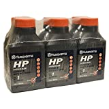 #1: Husqvarna 2.6 oz HP Synthetic Blend 2-Cycle Engine Oil 6-Pack 593152601