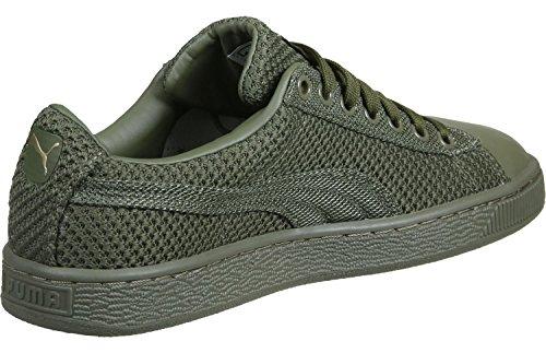 Puma Basket Tech Pack Calzado oliva