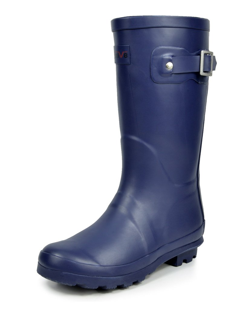 arctiv8 Toddler Korigin Navy Ruber Knee High Rain Boots - 10 M US Toddler