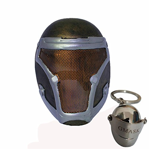 Gmask® Biochemical Soldiers Airsoft Face Protection Paintball Mask (Bronze-Silver) (Chemical Soldier)