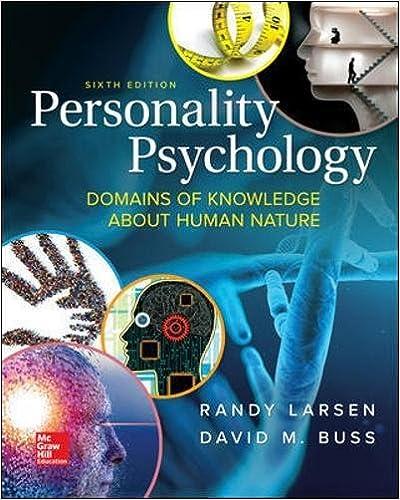 Personality Psychology Larsen 5th Edition Pdf