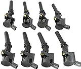 New LifeTime Warranty DG508 DG457 DG472 DG491 C1454 New Ignition Coil 8 Pack For Ford Multispark Blaster Epoxy 4.6L 5.4L #1L2U12029AA #1L2U12A366A