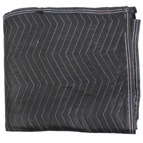 "Moving Blanket (24-Pack) 72"" X 80"" US Cargo Control - Econo Deluxe (130 Lbs/2 Dozen, Black/Gray) by US Cargo Control (Image #3)"