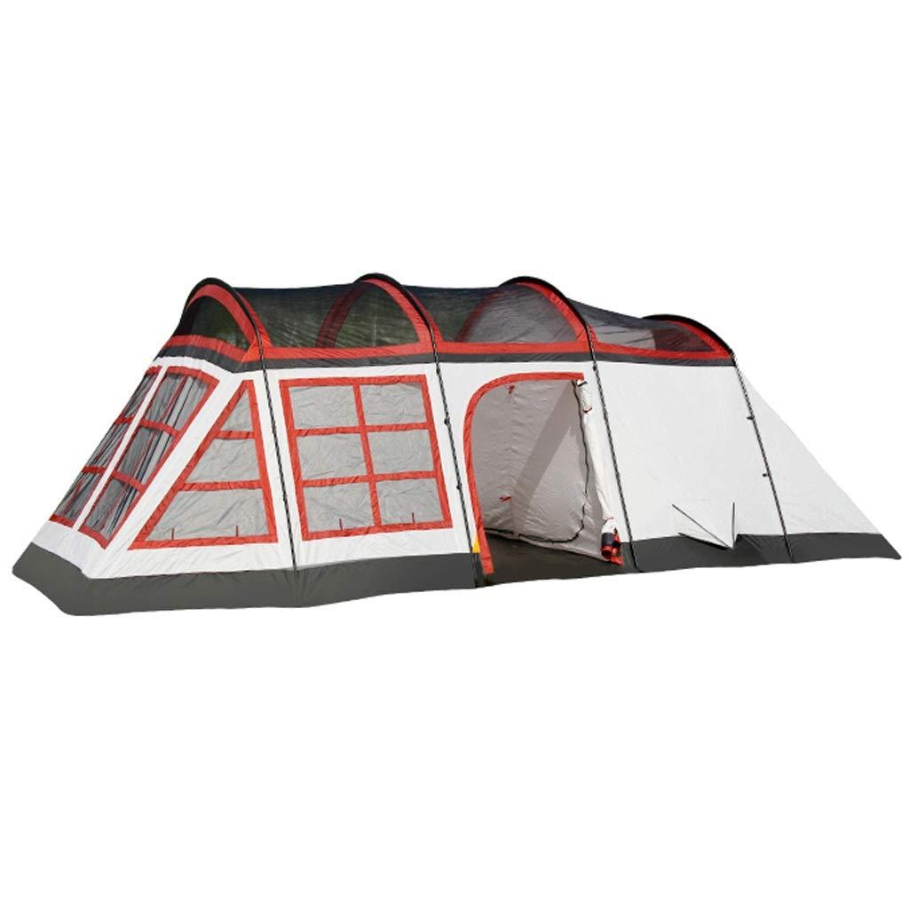 屋外防水日焼け止め2つの部屋および1つの居間8-10人のキャンプの家族のテントのバックパックのテント B07NYQD68F B07NYQD68F 赤 赤, 輸入壁紙専門店 ドレーパリー横浜:3ff95c54 --- cooleycoastrun.com