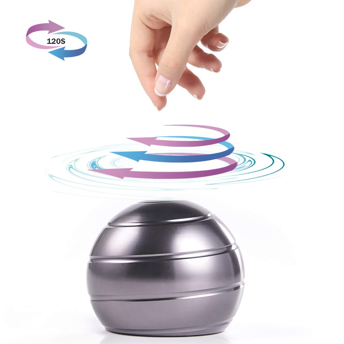 PUTOTE dynamic desk toy with full body optical illusion