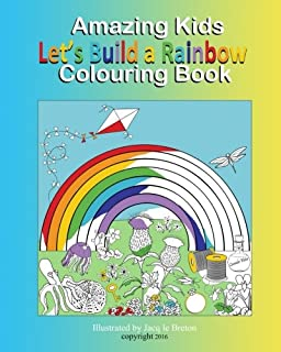 Rainbow Coloring Book for Kids: Big, simple and easy Rainbow ...