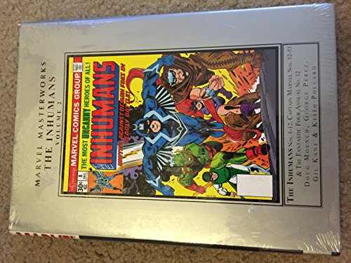 Marvel Masterworks: The Inhumans 2 by Marvel Enterprises (Image #2)
