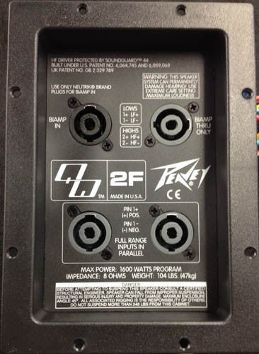 Peavey Replacement Crossover For Qw 2F Speaker Qw 2F Qw2f