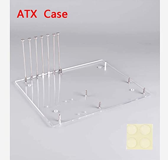 ATX PC Open Frame Test Bench Motherboard Overclock Computer Case DIY Mod Base Chassis