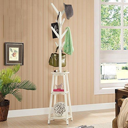 LQQGXLModern minimalist coat rack, American coat rack wood rack simple creative hanger (Color : 2#) by LQQGXL