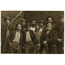 "A group of ""carrying-in-boys"" at Cumberland Glass Works. This is a typical group of carrying-in-boys in South Jersey. Location: Bridgeton, New Jersey. / L.W. Hine."