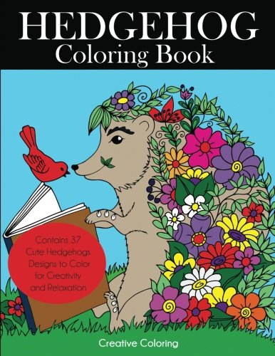 Hedgehog Coloring Book Creativity Relaxation product image
